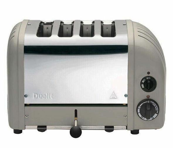 Dualit DUALIT TOASTER 4 SLICE CLASSIC 40595 SHADOW GREY WITH 5 WTY HEIDELBERG