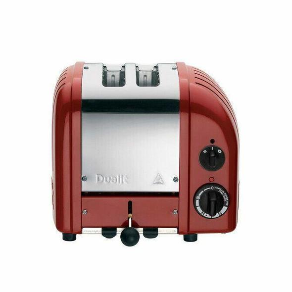 Dualit DUALIT TOASTER 2 SLICE RED NEWGEN 27061 WITH 5 YEAR WARRANTY IN HEIDELBERG