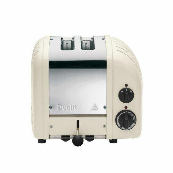 Dualit DUALIT TOASTER 2 SLICE CANVAS WHITE NEWGEN 27075 WITH 5 YR WTY IN HEIDELBERG