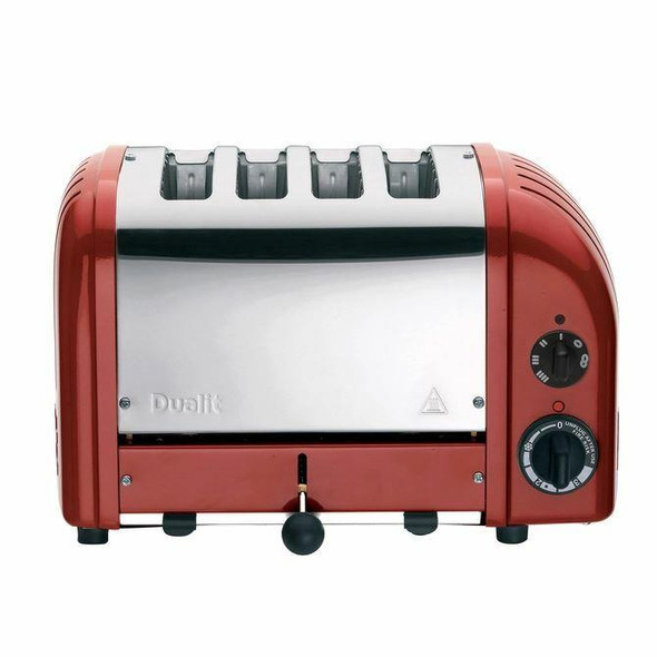 Dualit DUALIT TOASTER 4 SLICE NEWGEN RED 47061 WITH 5 YEAR WTY IN HEIDELBERG
