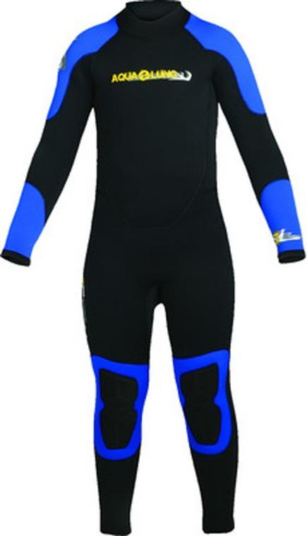 Aqua Lung Sport Kids 7mm High Stretch Tsunami Fullsuit Scuba Diving Wetsuit