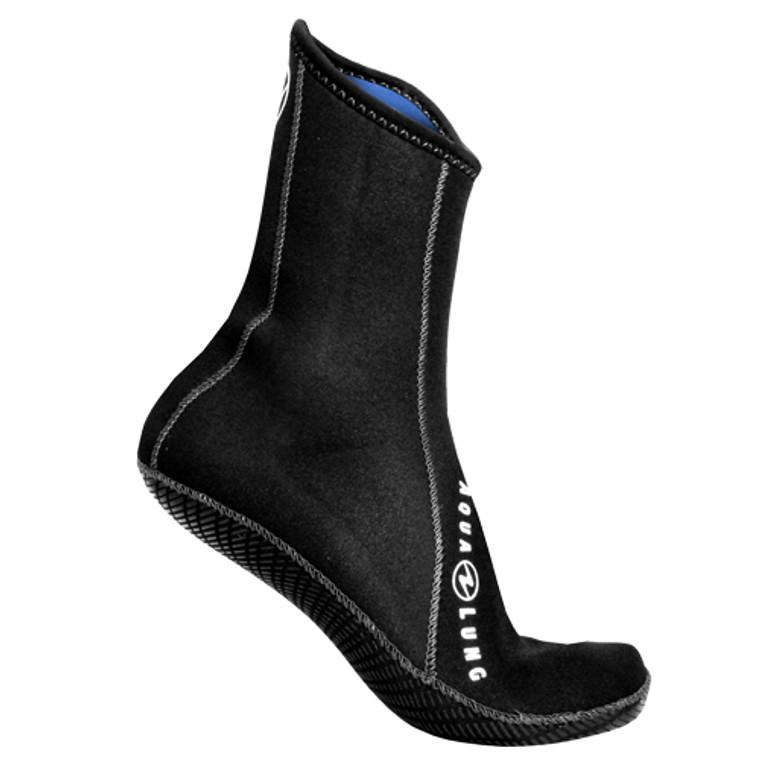 Aqua Lung Ergo 3mm Neoprene Sock - High Top