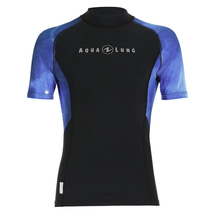 Aqua Lung Men's Rashguard SS - Galaxy Blue