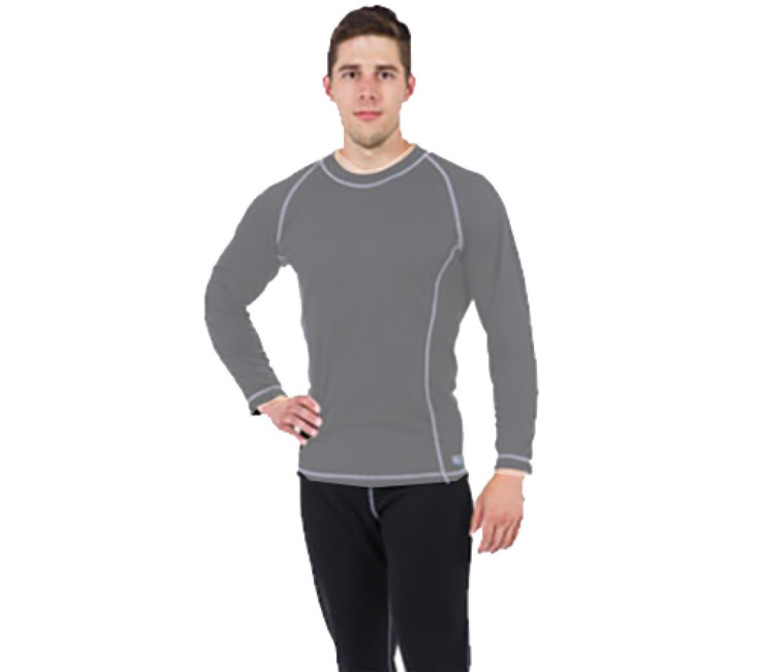DUI Ecodivewear Base Layer Pants Mens - Black/Gray