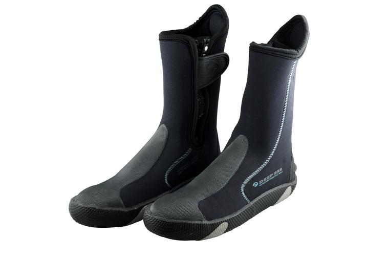 Deep See 5mm Safe Sole Zipper Dive Boots