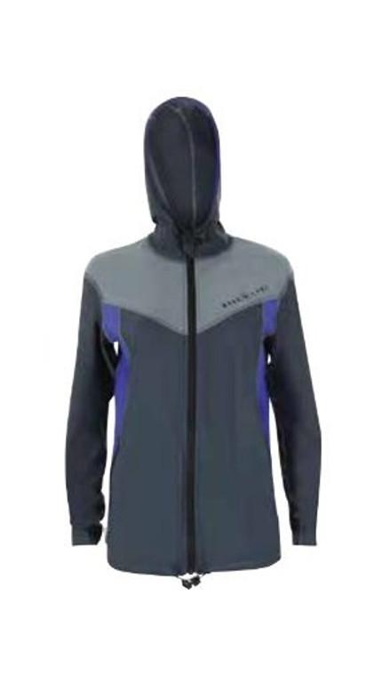 Aqua Lung Men's Jacket w/ Hood - Black/Lime