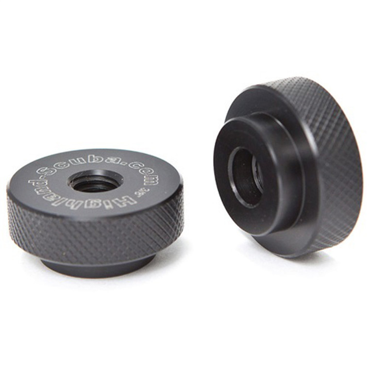 XS Scuba 3/8 inch Delrin Speed Nuts (Pair)