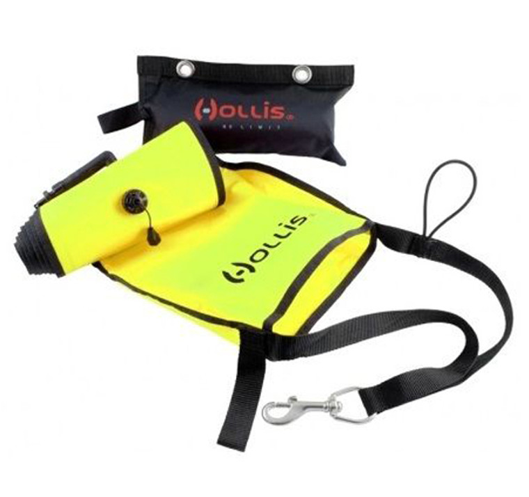 Hollis Marker Buoy w/ Sling Pouch - Yellow