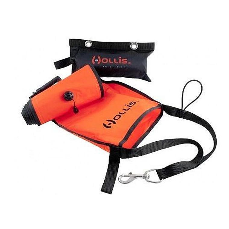 Hollis Marker Buoy w/ Sling Pouch - Orange