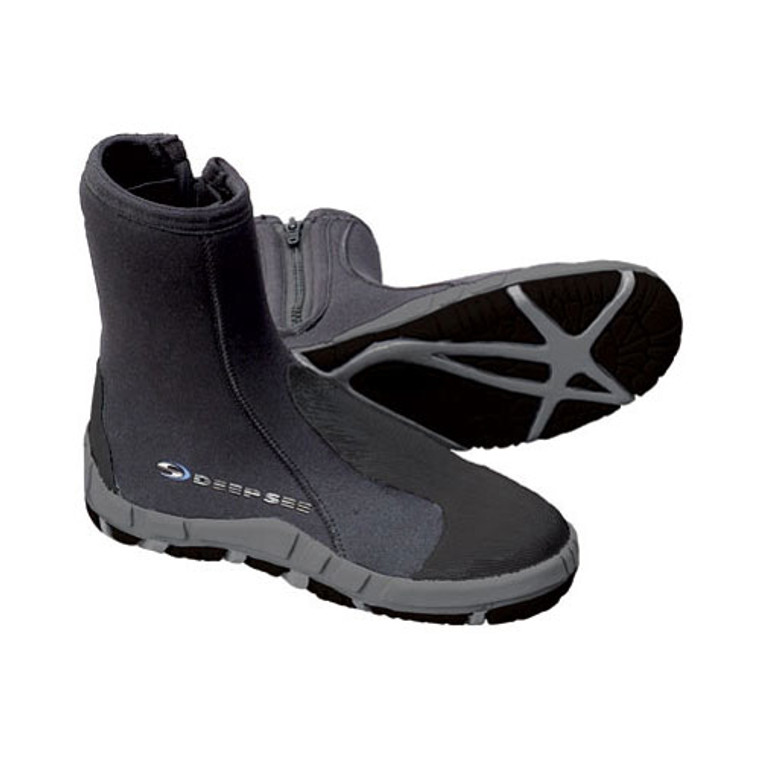 Deep See 5mm Manta Heavy Duty Dive Boots - Size 4