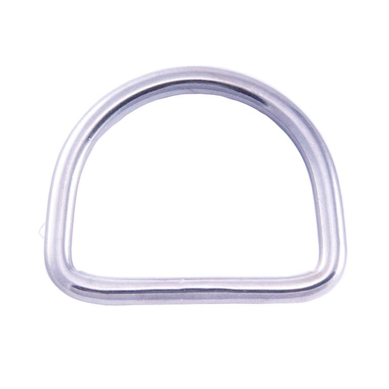 """Hollis 1"""" D-Ring - Stainless"""