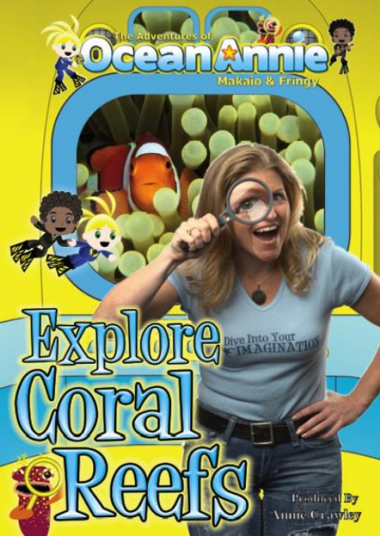 Explore Coral Reefs Scuba Diving Educational DVD with Annie Crowley