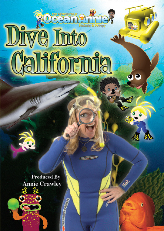 Dive into California Scuba Diving Educational DVD with Annie Crowley