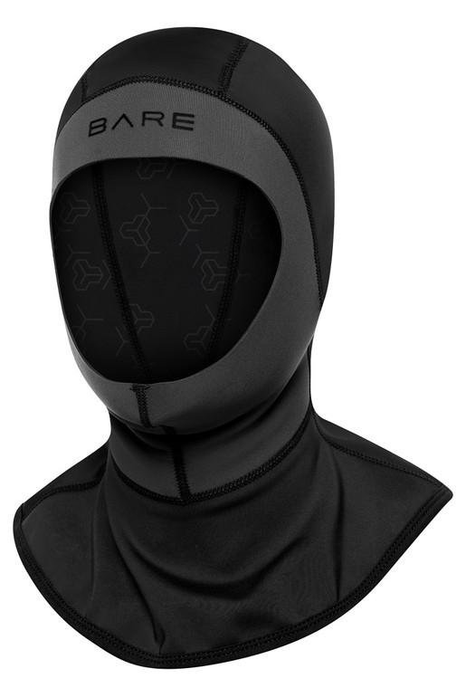 Bare Exowear Hood Unisex - Black