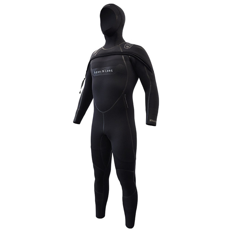 Aqua Lung Men's SolAfx Suit 8/7 - Black