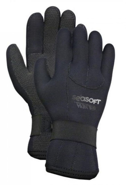 Seasoft 2/3mm Kevlar Reinforced Hunter Gloves