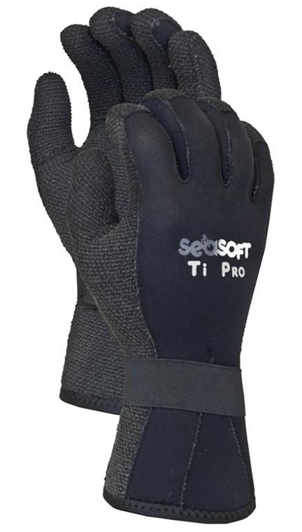Seasoft TI 3mm Kevlar Gloves