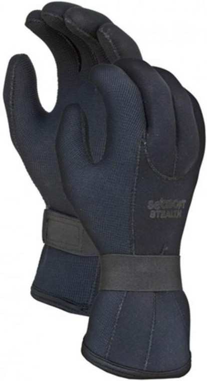 3mm Seasoft Dinahyde Stealth Gloves