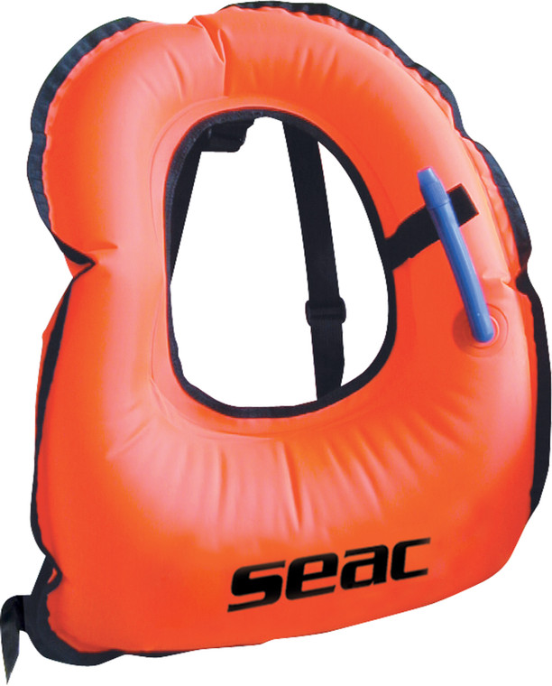 SEAC Snorkeling Vest - Orange