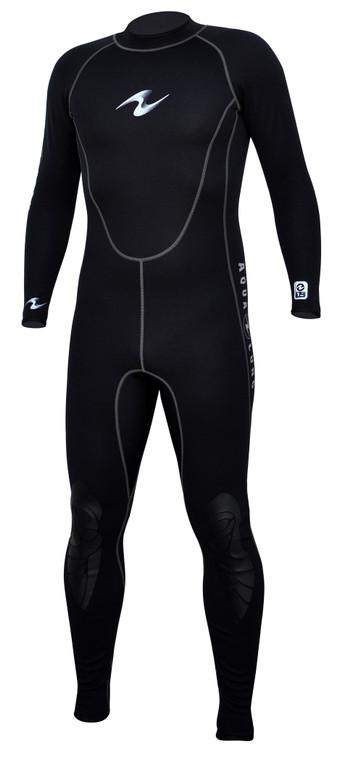 Aqua Lung HydroFlex 1mm Black Scuba Diving Jumpsuit