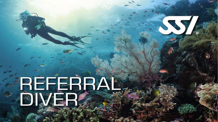 SSI Referral Scuba Diver Course