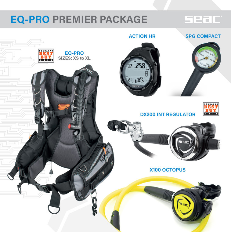 SEAC EQ-Pro Premier Package