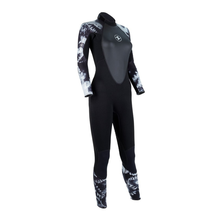 Aqua Lung HydroFlex 3mm Wetsuit - Women - Camo Black/White