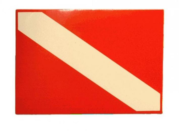 Dive Flag Sticker for Scuba and Snorkelers