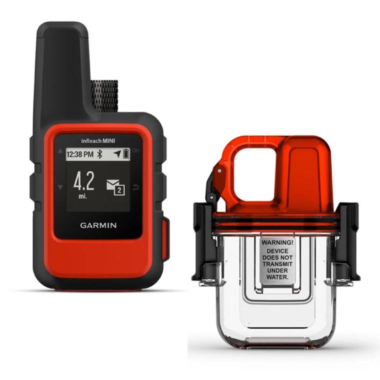 Garmin inReach Mini GPS with Underwater Dive Case Bundle