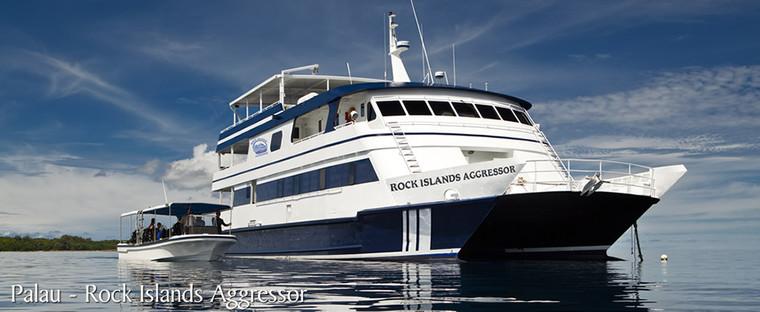Palau Rock Islands Aggressor February 18 - 25, 2024