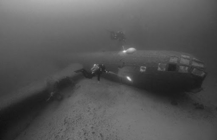 B-29 Bomber Wreck Dive - Nevada - March 12 & 13, 2022