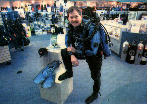 Mike Johnson, Owner - Photo taken in 1997