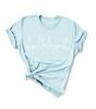 Hallelujah T-Shirt - Sky Blue