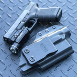 Glock 19 with Streamlight TLR-1 Optic cut Holster