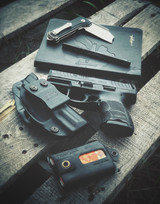 Today's Carry: VP9sk & AIWB Holster, The Cleaver, Sketchbook