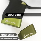 NEW: HYVE +2 Mag Extension for the Glock 43 OD Green