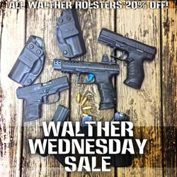 #WaltherWednesday Sale