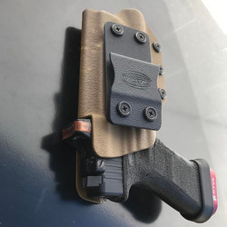 Tuckable IWB Holster with Optic Cut Out