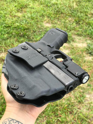 Glock 19 with Inforce APL Compact IWB Holster