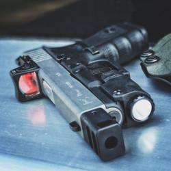 Glock 19 gen 4 with RMR, APLc and KKM Precision Compensator