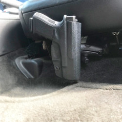 Toolless Installation: Tough-Claw Mounted Holster