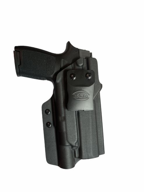 Light bearing Small of Back Holster Palm Out