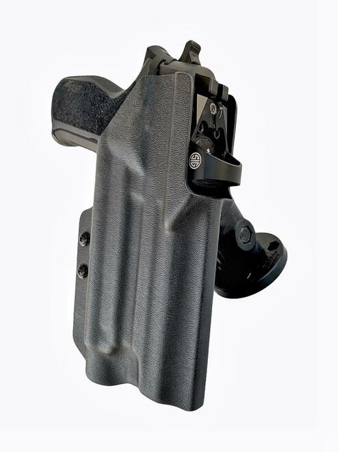 Light bearing Mounted Holster