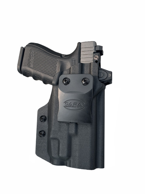 Glock 19 and Streamlight TLR-7 IWB Holster for Concealed Carry | Optics Ready