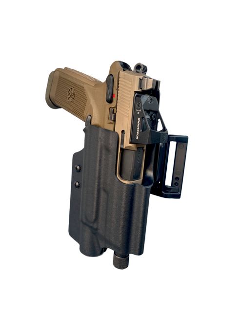 FNX-45 Tactical with Surefire X300U-B and ALQD Quick Disconnect