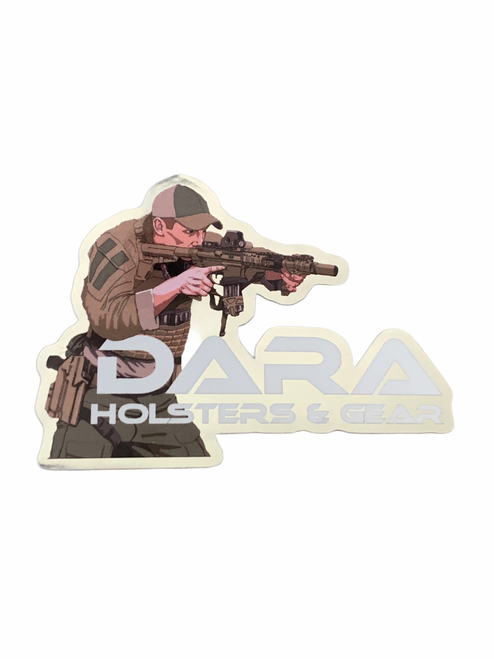 Dara Holographic Sticker