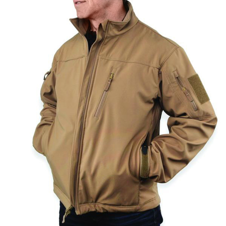 Concealed Carry Jackets - Coyote