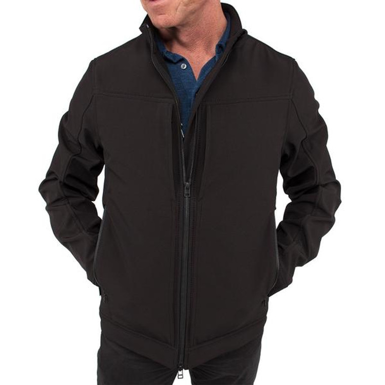 City Concealed Carry Jacket - Black