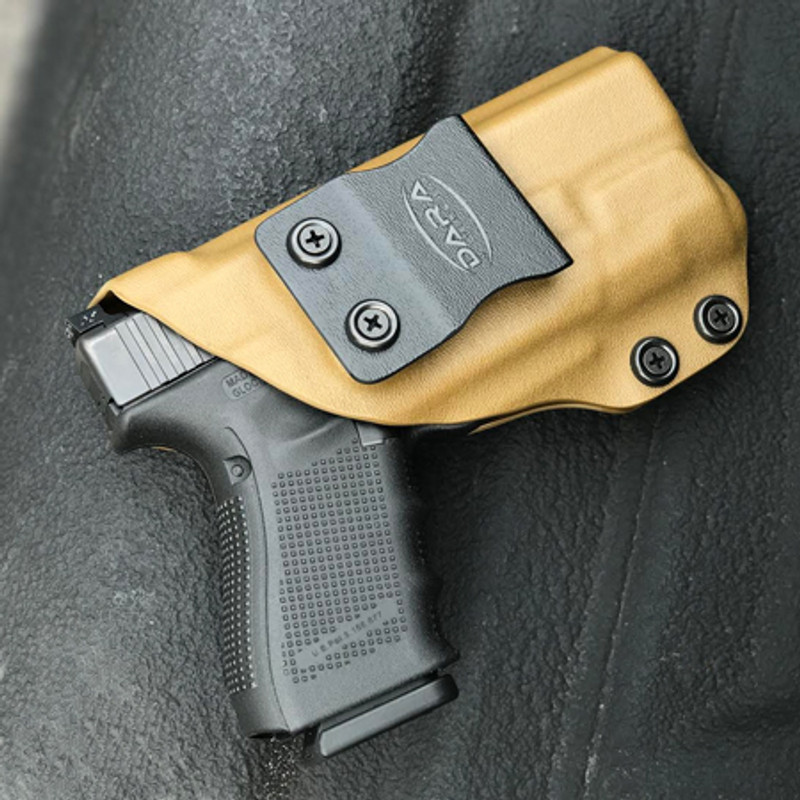 Glock 19 with Inforce APLc Holster - DARA HOLSTERS & GEAR