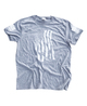 Dara Flag Print T-Shirt - Grey